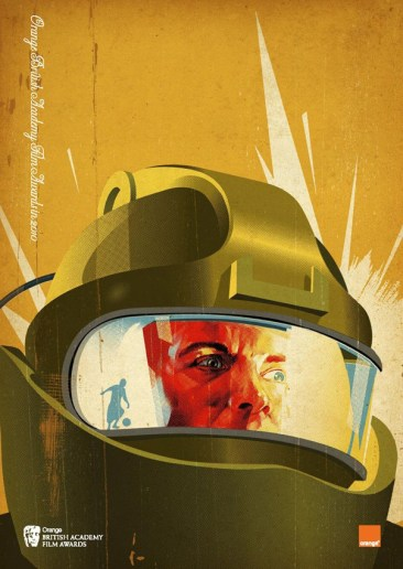 Tavis Coburn's The Hurt Locker BAFTA Poster