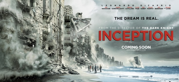 Christopher Nolan's Inception Banner