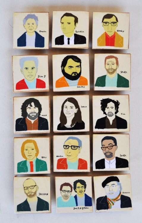 Favorite Directors- Magnet set