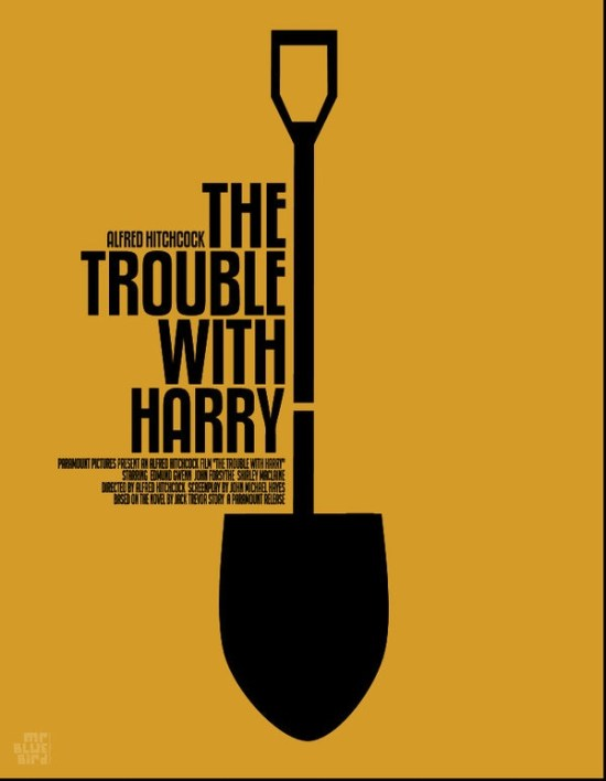 Mario Graciotti's Poster for The Trouble With Harry