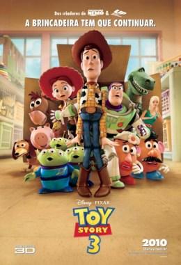 Toy Story 3 Brazilian Poster