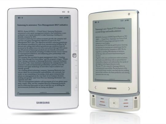 Samsung E101 E6 ereaders 540x405
