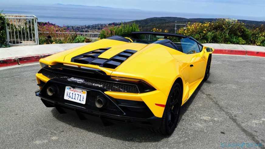 2020 Lamborghini Huracan Evo Spyder First Drive Review: A ...
