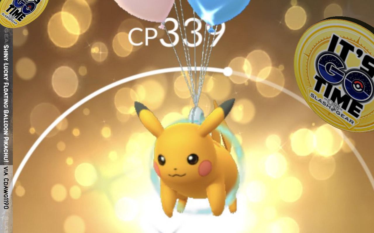 Shiny Pokemon Go Watch List Today Party Hats Balloons Flying Types Slashgear