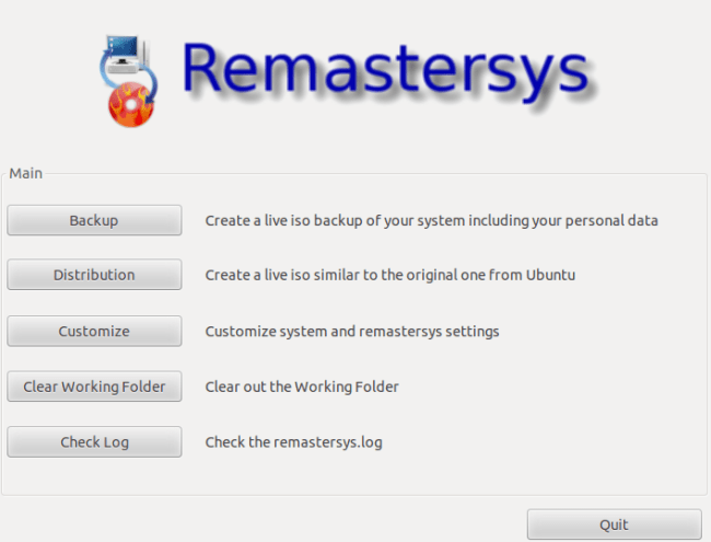 remastersys
