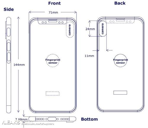 Iphone 8 diagram reports leaked techenroll img iphone 8 diagram based on latest supply chain reports ccuart Gallery