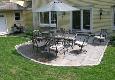 Flagstone Patios: Stone Patio Ideas From Flagstone ... on Pebble Patio Ideas id=46012
