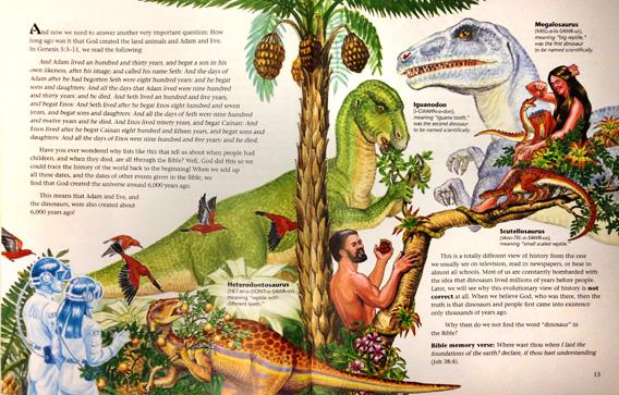 """Dinosaurs of Eden"" by Ken Ham"