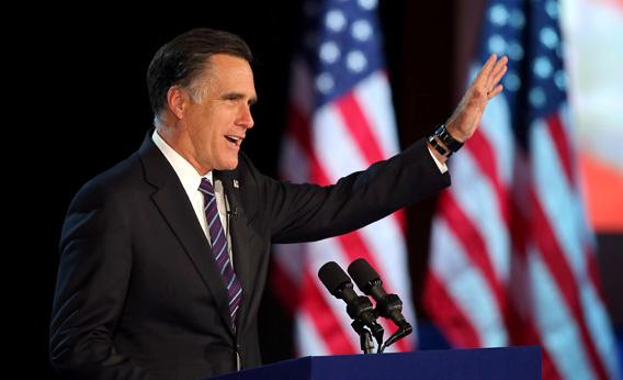 Romney concession speech 2012: When did candidates start ...
