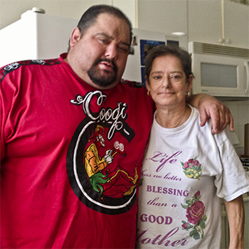 It took Rose Termini two years to find her son, Raymond Pagan.