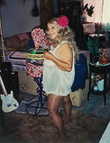Linda Taylor in Florida, circa the 1980s.