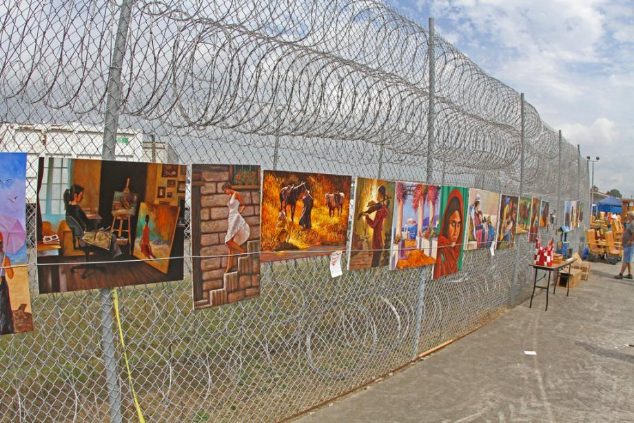 Each October Inmates At Louisiana State Penitentiary Host