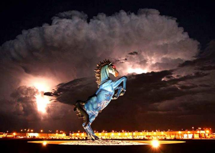 The Blue Mustang Is Part Of Several Conspiracy Theories