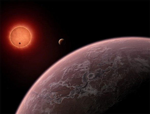 Three Earthsize exoplanets found around nearby red dwarf
