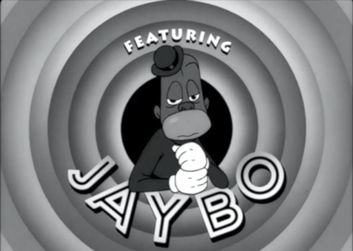 Image result for black cartoon racist