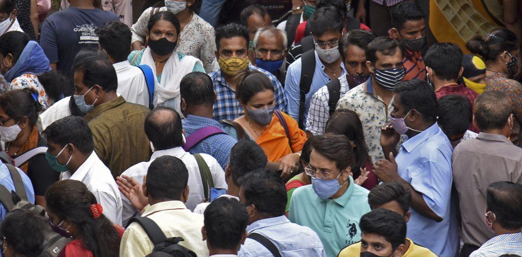 Avec 13,9 millions d'infections au Covid-19, l'Inde compte désormais le deuxième plus grand nombre de cas au monde, devant le Brésil. | Sujit Jaiswal / AFP