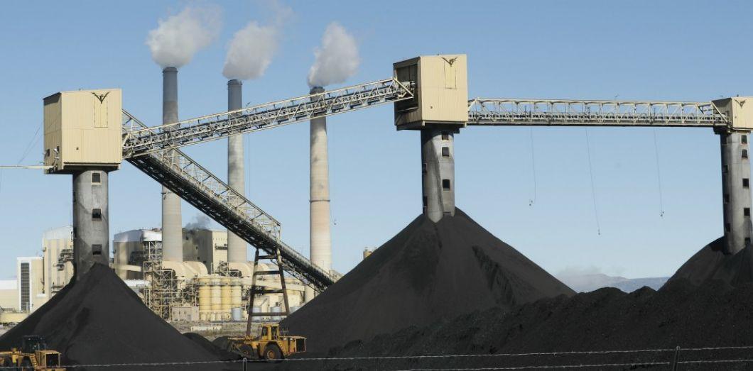 Centrale à charbon en Utah. | George Frey / Getty Images North America / AFP
