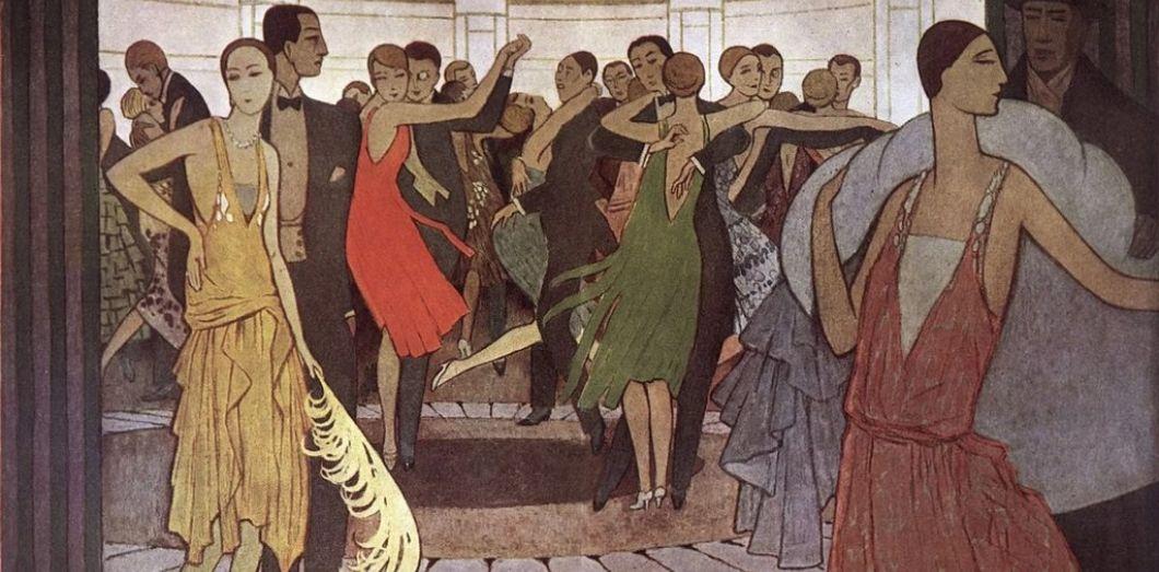 Paris la nuit, dans un dancing de Montmartre en 1927. |Manuel Orazi via Wikimedia