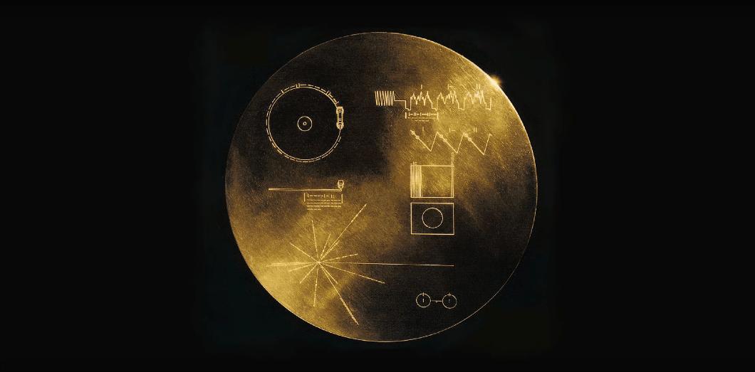 Le vinyle d'or de la NASA | Capture d'écran via Youtube License by