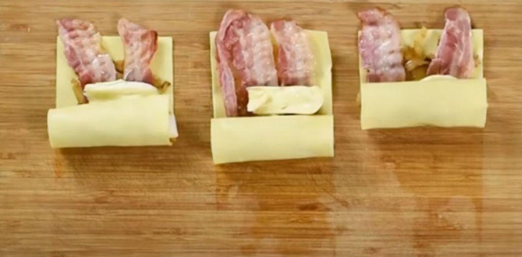 Des lasagnes roulées au reblochon sont-elles mangeables? | Capture d'écran via YouTube
