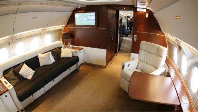 A l'intérieur des avions de luxe | Slate.fr