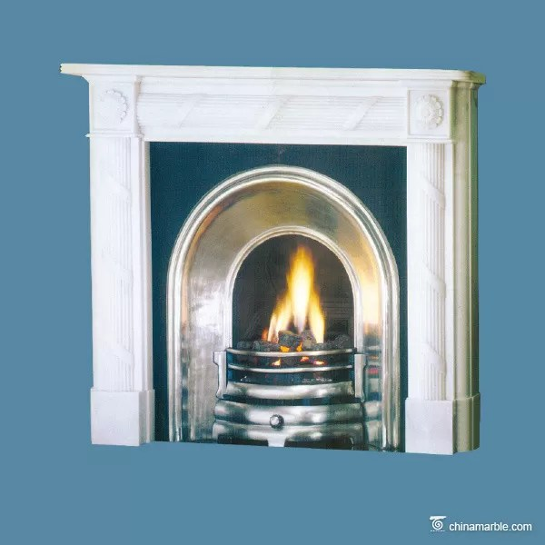 china marble white gray marble fireplace surround durable marble tile fireplace hearth