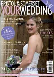 Your Bristol & Somerset Your Wedding Magazine Cover