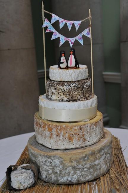 Stacks Of Cheese Make An Unusual Wedding Cake SLATERSPARKE