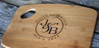 Bloxstyle personlised chopping board
