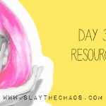 Day 30 – Resources