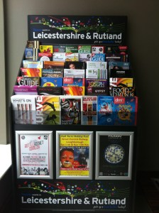 Super Display Holder @ The Ramada Encore Hotel, Leicester.