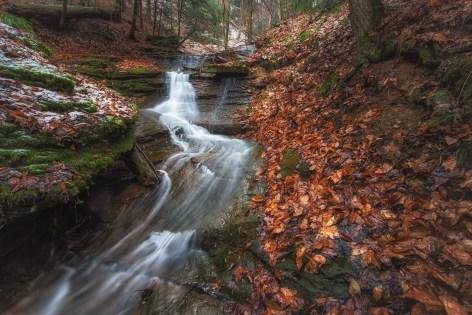 Hidden Waterfall at McConnells Mills