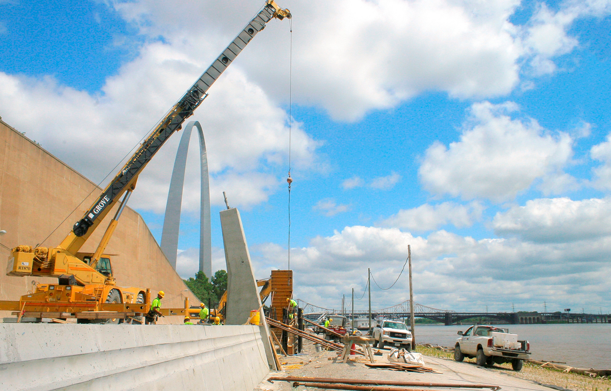 Construction Arch Photo