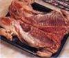 Cerdo entero para asar en el horno