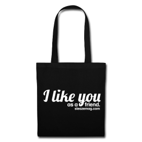 I like you Tasche schwarz/weiß