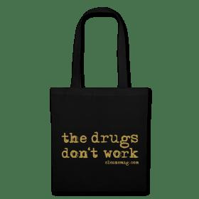 The Drugs Don't Work Tasche Gitzer silberGitzer gold
