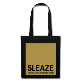 SLEAZE Beutel (gold Glitzer)