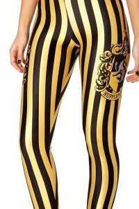 hufflepuff print-leggings