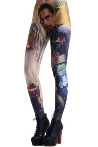 iron man print-leggings