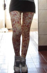 pizza print-leggings