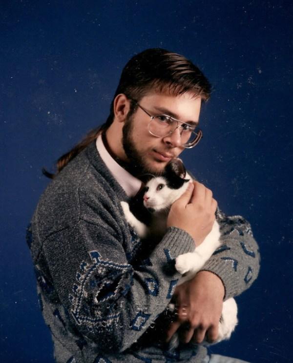 Männer und Katzen Katzenliebe verrückte Katzenmänner