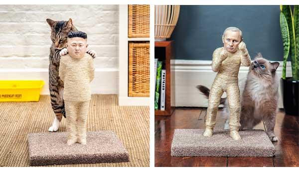 Putin Ktazbaum Kim Jong Un Hidemyass gadgets für katzen