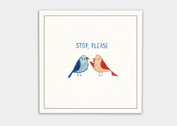 kaa illustrations böse sprüche für postkarten