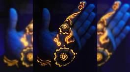 glow in the dark henna beitragsbild
