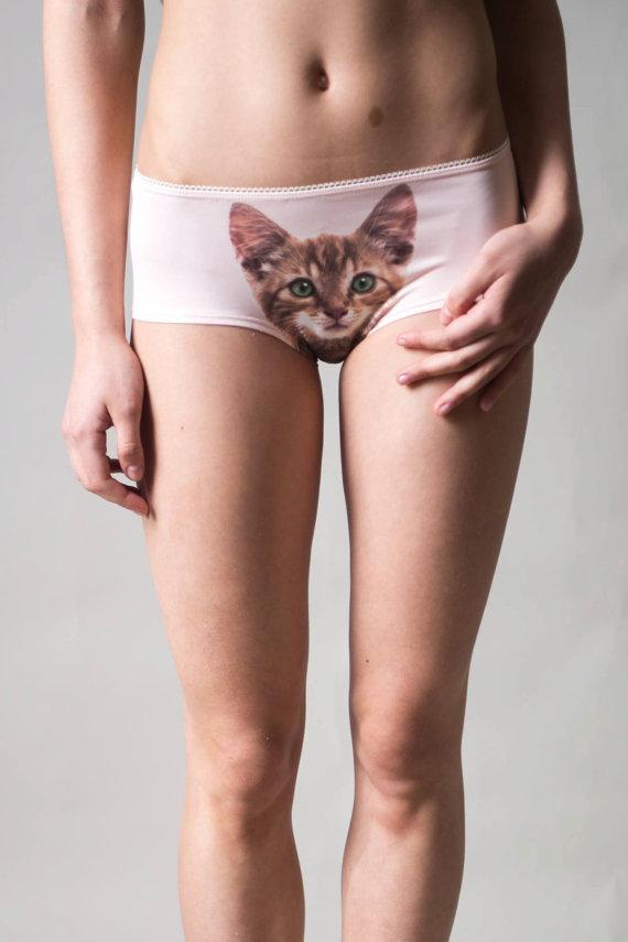 Etsy Lickstarter katzenunterwäsche