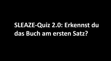 SLEAZE-Quiz 2.0