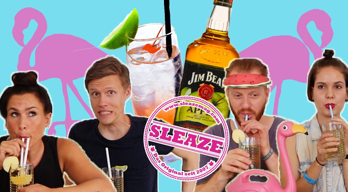 jim beam sommerdrinks produkttest erfahrung cocktails