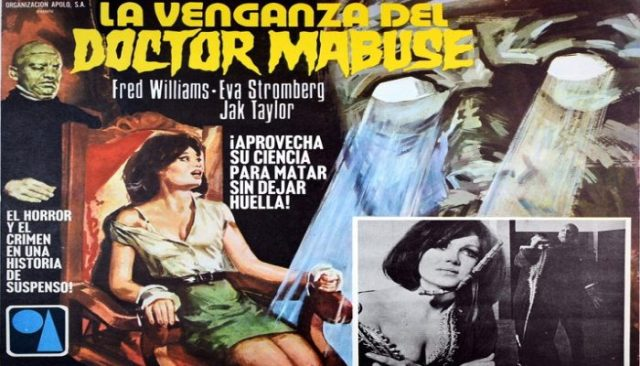 The Vengeance of Doctor Mabuse (1972) unknown Jess Franco Movie