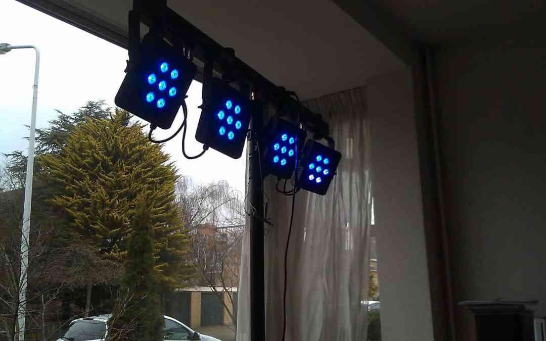 Nieuwe lichtset voor Slechte Band
