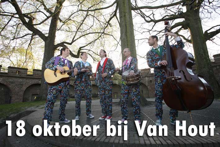 18 oktober 2014 De SB bij Café Van Hout